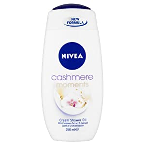 NIVEA Cashmere Moments Cream Shower Oil 250ml