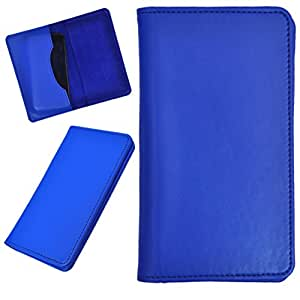 DCR Pu Leather case cover for Asus Zenfone Zoom ZX550 (blue)