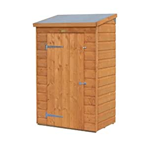 Mini Wooden Store Small Outside Storage Unit with Shiplap Cladding