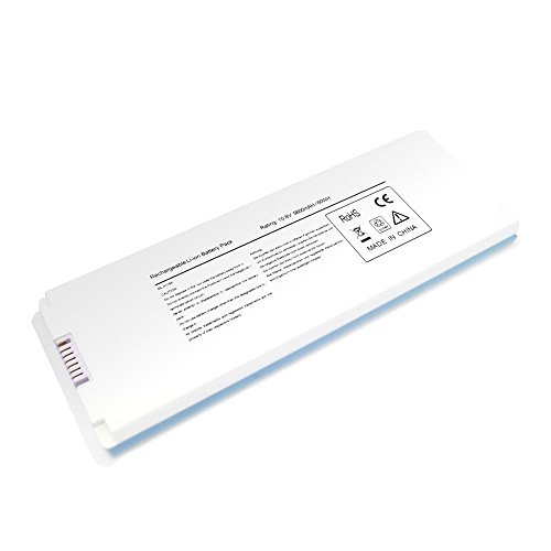 SLE®10.8V 5600mAh/60Wh New Replacement Li-ion Battery for Apple MacBook 13 A1185 A1181 MA561 MA561FE/A MA561G/A MA561J/A 12-Months Warranty