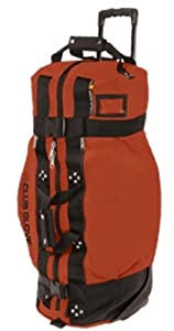 Club Glove Rolling Duffle 2 Clay Xl by Club Glove