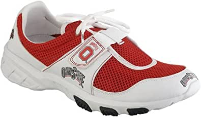 ncaa unisex athletic shoe color ohio state