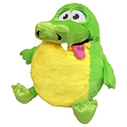 [Best price] Stuffed Animals & Plush - Tummy Stuffers Green Gator Plush Toy - toys-games