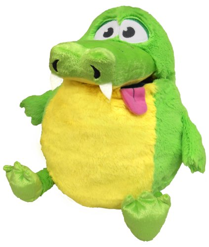 Tummy Stuffers Green Gator Plush Toy - 1