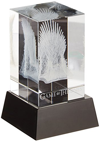 Dark Horse Deluxe Game of Thrones: 3D Crystal Iron Throne with Illumination Base Statue (Iron Throne Replica compare prices)