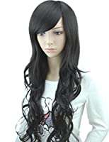 M.S Fashion Women's Long Straight Wig Hair Sexy Wine Red /Black/Dark Brown from MelodySusie