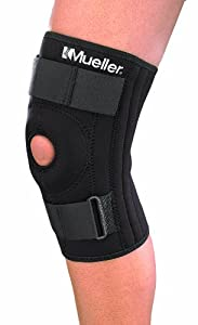 Mueller Patella Stabilizer Knee Brace, Small, Black, 1-Count Package