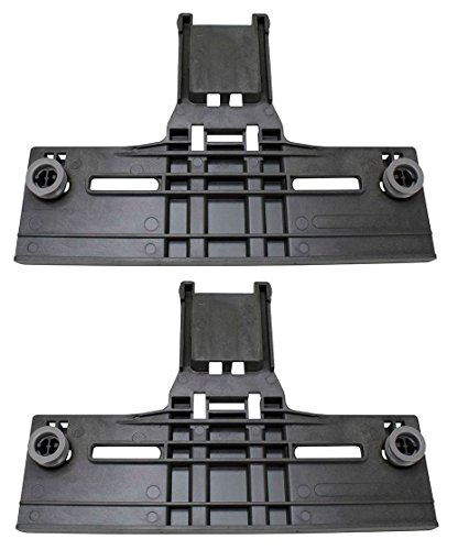 Kitchenaid Compatible Dishwasher Upper Rack Adjuster Kit-(2 Pack) Top Rack - New (Kitchen Aid Washer Rack compare prices)