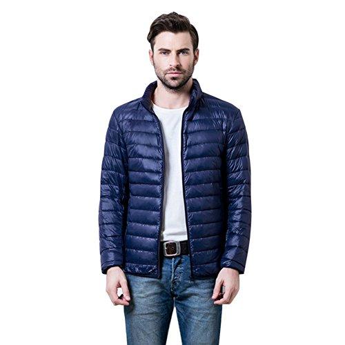 Botetrade Herren Marke im Freien 90% Ente Daunenjacken Parka Sport Jacket Navy M
