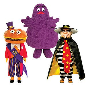 Amazon.com: McDonaldland Characters Set of 3 -- Mayor McCheese