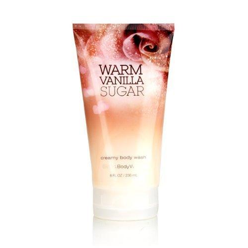Bath Body Works Warm Vanilla Sugar 8.0 Oz Creamy Body Wash Creamy Bath