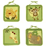 NoJo Jungle Babies Wall Hanging