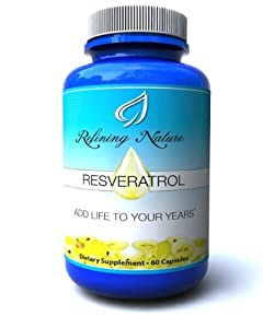 Resveratrol is the most powerful natural anti inflammatory and anti aging product available. This Product has a uniquely high absorption because it's enhanced with digestive enzymes, as well as 5 natural antioxidants. 1200mg 60 Count, 1 month supply.