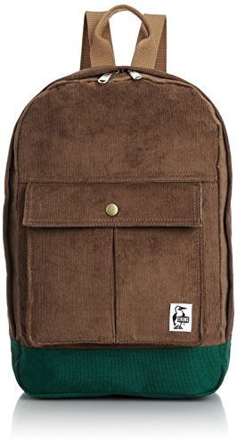 [チャムス] CHUMS Corduroy Pleated Pocket Day Pack CH60-0937 BR (Brown)