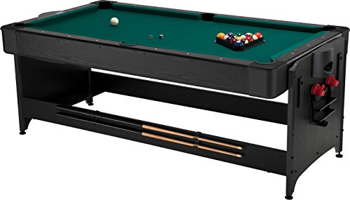 Fat Cat Original 3-in-1, 7-Foot Pockey Game Table (Billiards, Air Hockey and...