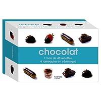 Chocolat : Coffret : 1 livre et 4 ramequins
