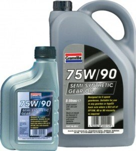 Clarik Granville Ep 75W/90 Ss Gl5 Gear Oil 5Ltr 0012 Qty 1