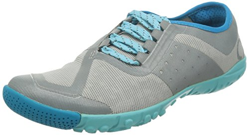 SKORA Women's Phase-X Running Shoe,Silver/Cyan/Ice,8 M US
