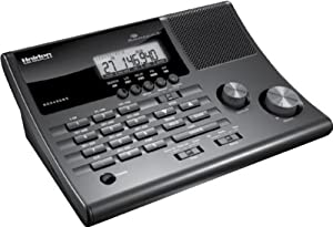 Uniden CRS AM FM Clock Radio Base Scanner with 500 Channels in 10 Banks BC345CRS by Uniden