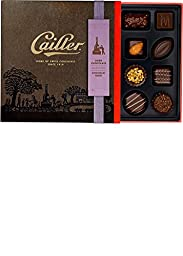 CAILLER Dark Chocolate Selection, Small Box Assortment, 5 Ounce, (16 Pieces)