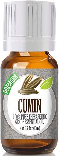 Cumin 100% Pure, Best Therapeutic Grade Essential Oil - 10ml