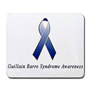 Guillain Barre Syndrome Awareness Ribbon Mouse Pad
