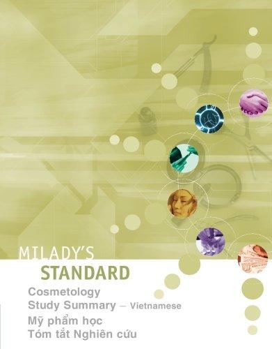 Milady's Standard: Cosmetology Study Summary, Vietnamese (Vietnamese Edition)