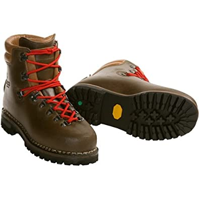 Alico New Guide Mountaineering Hiking Boots (For Men) - BROWN