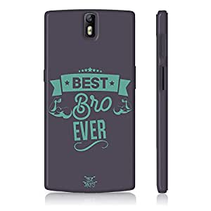 Be Awara Best Bro Ever Back Case for OnePlus One