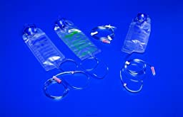 Kangaroo ePump Enteral Feeding Pump Sets, Epump Fdng-Flush Set 1000ml, (1 EACH, 1 EACH)