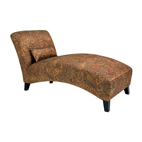 Handy Living 340CL-PGP46-084 Chaise Lounge Chair,