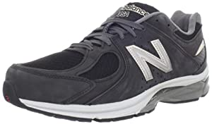 New Balance Men's M2040 Running Shoe,Black/Grey,10 D US