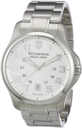 Victorinox-Swiss-Army-Mens-SWISSA-241359-Officers-Stainless-Steel-Watch