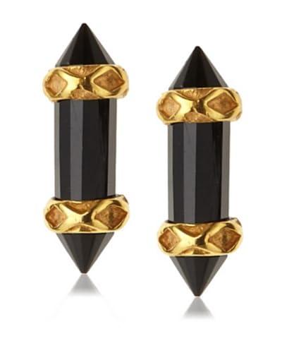 Katie Diamond Jewelry Black Garnet Misa Studs