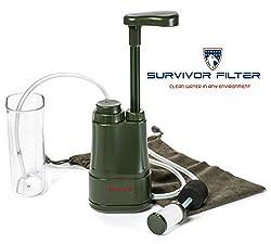 Survivor Filter Pro Nano-Filtration Water Purifier