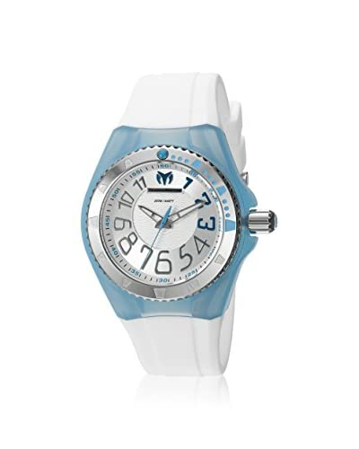 TechnoMarine Women's TM-115224 Cruise Original White/Silver Solid Stainless Steel Watch