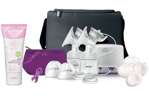 Philips Avent Comfort Double Electric Breast Pump With Nursing Balm