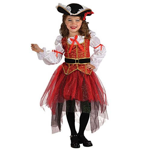 [Happy Cherry Girls Pirate Costume Deluxe Cosplay Gauze Skirt Exhibition Suits Size S] (Pirate Halloween Costumes Ideas)
