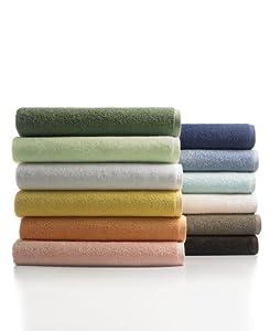 """Martha Stewart Collection """"Low-Twist"""" Hand Towel, 16"""" x 26"""" Milk / White"""