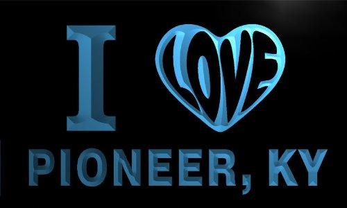 V56917-B I Love Pioneer, Ky Kentucky City Limit Neon Light Sign