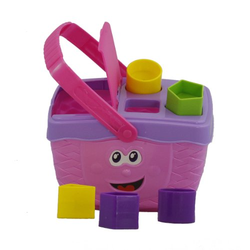 Picnic Basket Shape Sorter by Polyfect
