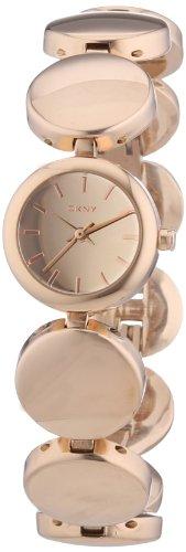 DKNY  NY8868 - Reloj de cuarzo para hombre, con correa de acero inoxidable, color oro rosa