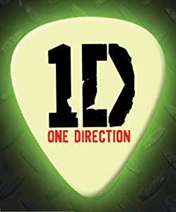 Printed Picks Company One Direction 5 X Glow In The Dark Premium Guitar Picks by Printed Picks Company