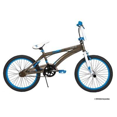 Huffy 20-Inch BMX Boys Revolt Bike (Raw Steel and White)