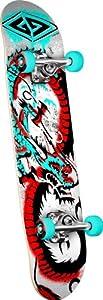 Buy Powell Golden Dragon Loop Stencil Dragon 2 Complete Skateboard by Powell