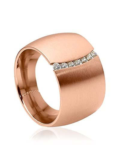 Pearleffects Anello Flexus Rosegold