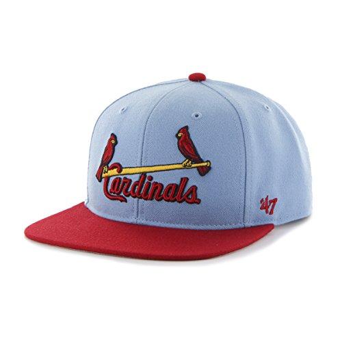 MLB St. Louis Cardinals Sure Shot Two Tone Captain Wool Adju