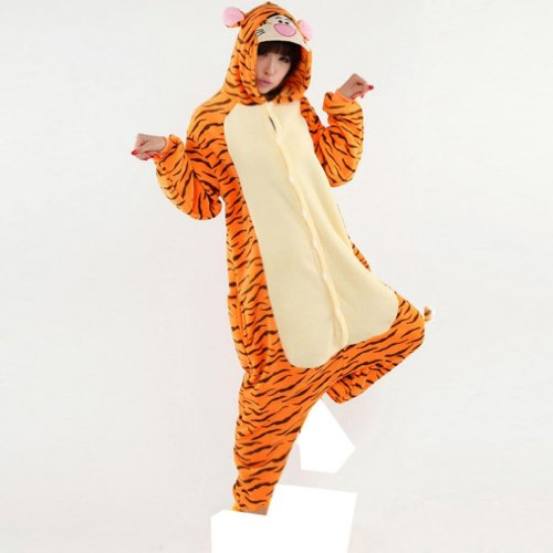 Tigger Costumes For Women Halloween Pajamas Mikuhatsune Cosplay For Adults