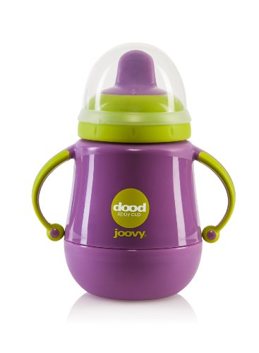 Joovy Dood Sippy Cup Plus Insulator, Purpleness, 9 Ounce