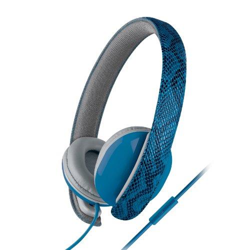 Urban Beatz Ub-Hm100-400 Python Headphones With Mic - Blue
